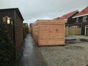 Overkapping hout