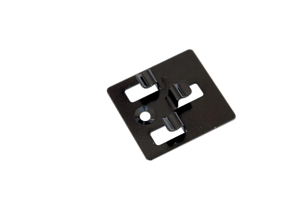 Clips RVS t.b.v. montage composiet dekdelen