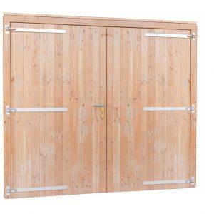 Douglas dubbele dichte deur extra breed