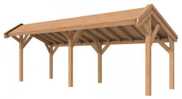 Kapschuur Modulair 700 x 230 cm