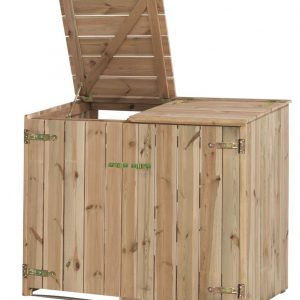Dubbele containerkast