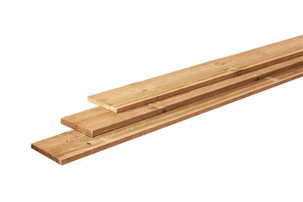 Fijnbezaagde grenen planken 2