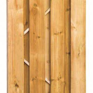 Fijnbezaagd grenen 2m deur