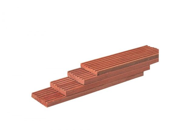 Terrasplanken hardhout geprofileerd 21 mm