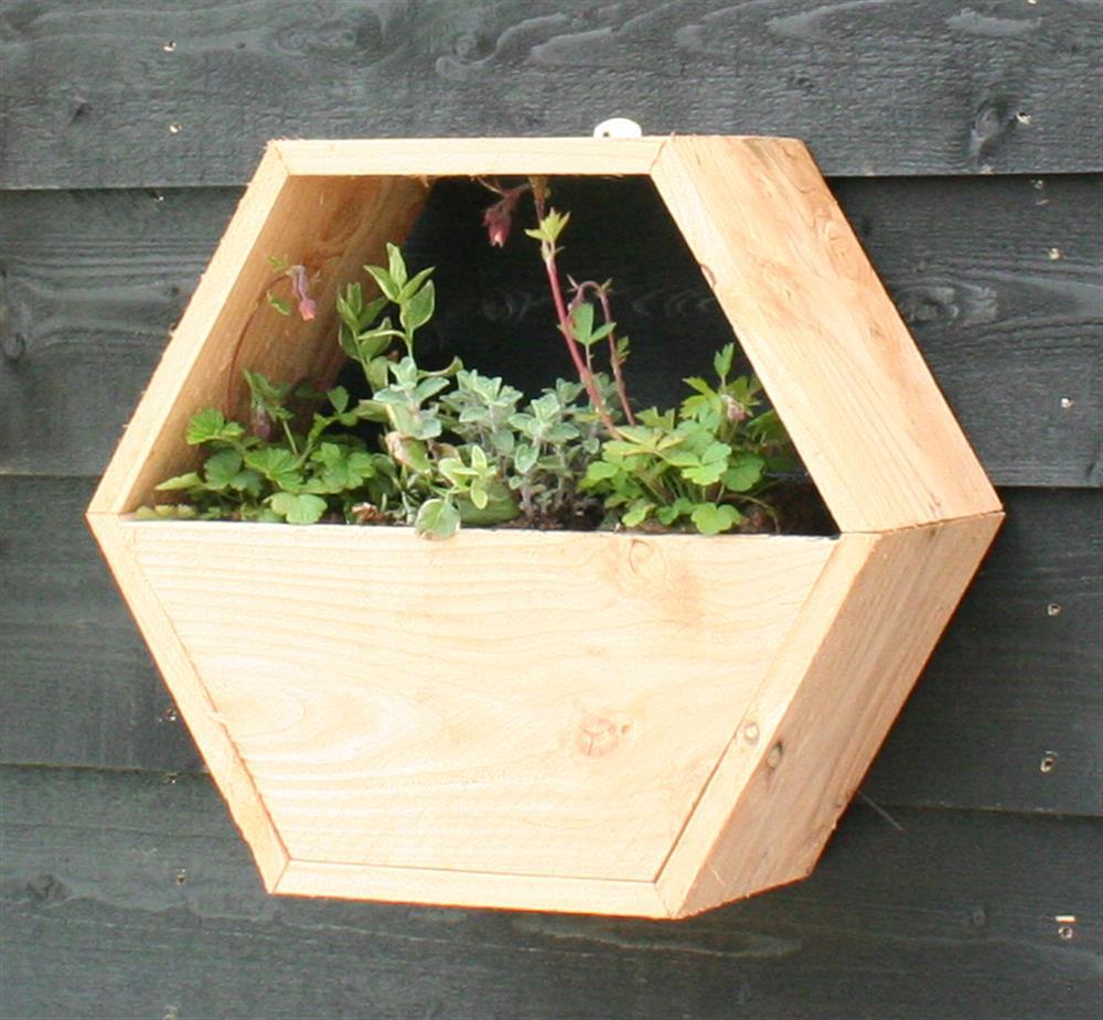 Honingraatsysteem uitbreiding bloembakkenset