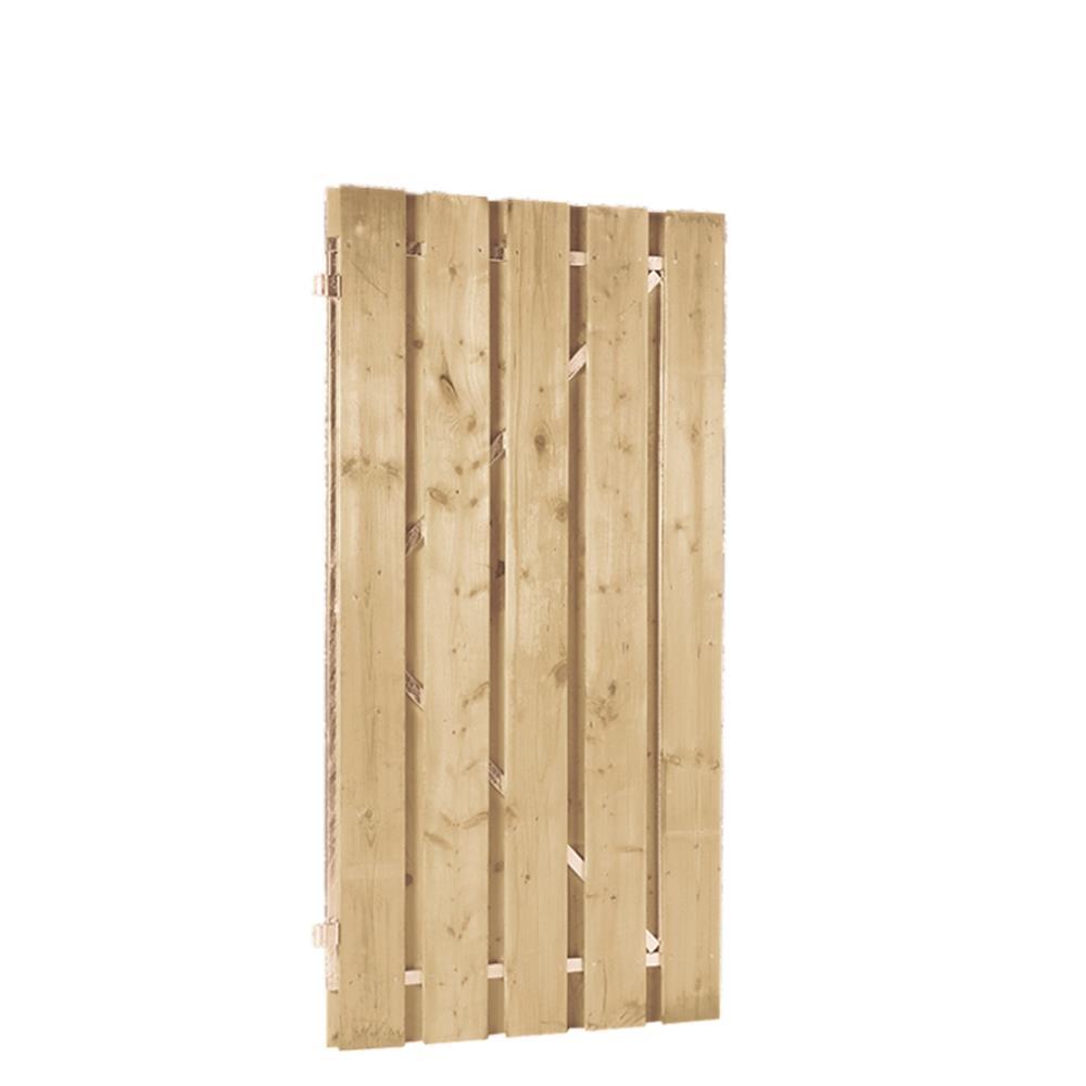 Jumbo deur op verstelbaar stalen frame