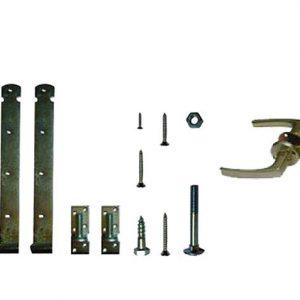 Hang- en sluitwerk t.b.v. houten deuren