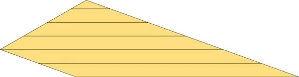 Topgevel t.b.v. Kapschuur Prestige 400 cm