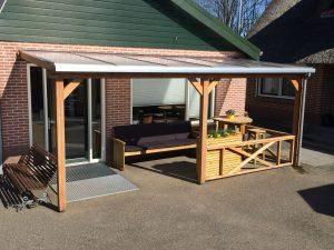 Op maat gemaakte Polycarbonaat veranda